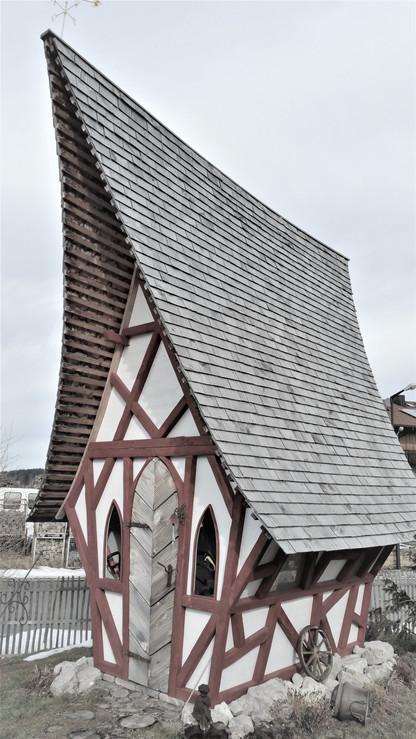 Teinie Haus  Hexenhaus Gartenhaus Sauna