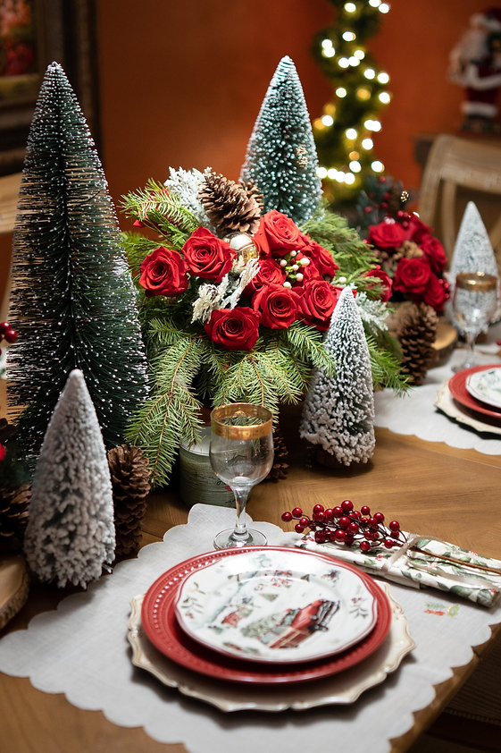 Christmas Tables Cover