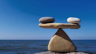 Quando você percebe que não está em equilíbrio?