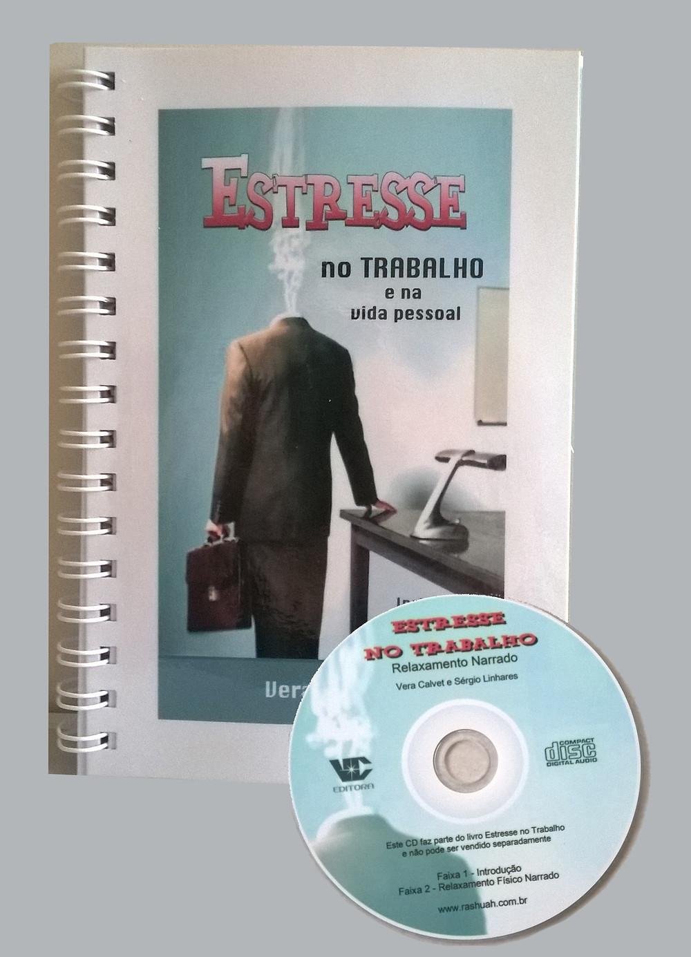 livro Estresse no Trabalho + CD relaxamento narrado