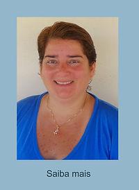 Simone Sales - Terapeuta Ráshuah,responsável pelo Espaço Ráshuah Cabo Frio - RJ Especialista nas Terapias Corporais Ráshuah - Instrutora de Meditação Taroterapeuta - Psicerapeuta de Autoconhecimento