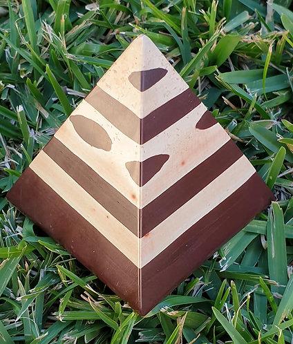 Zebra Stone Pyramid