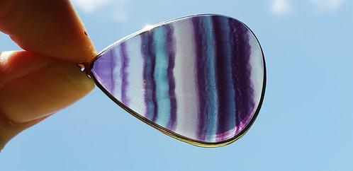 Rainbow Fluorite Pendant