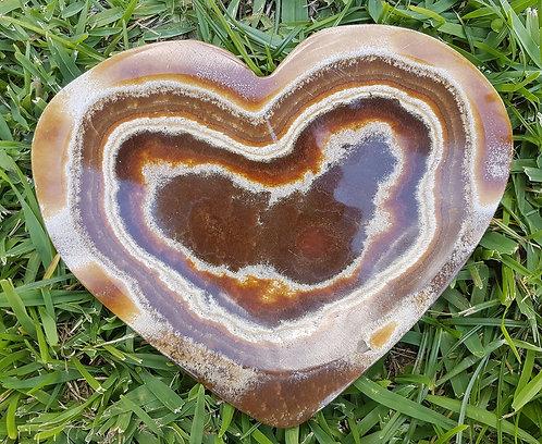 Aragonite Heart Plate