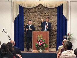 Preaching in Talcahuano