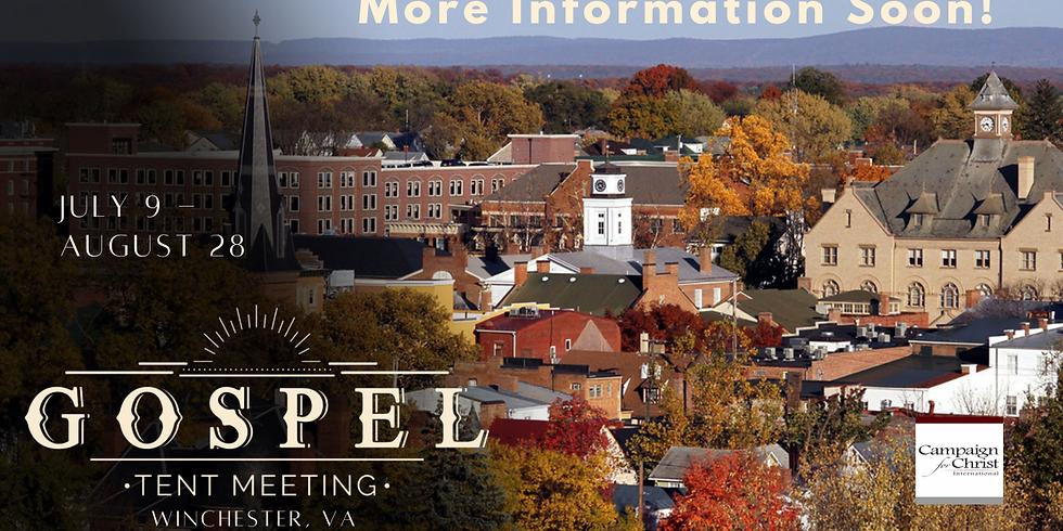 Gospel Tent Meeting 2021