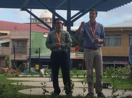Street Preaching in Costa Rica