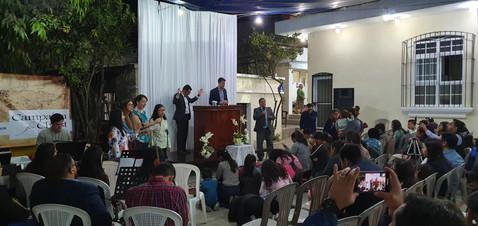 Ministering in Antigua Guatemala