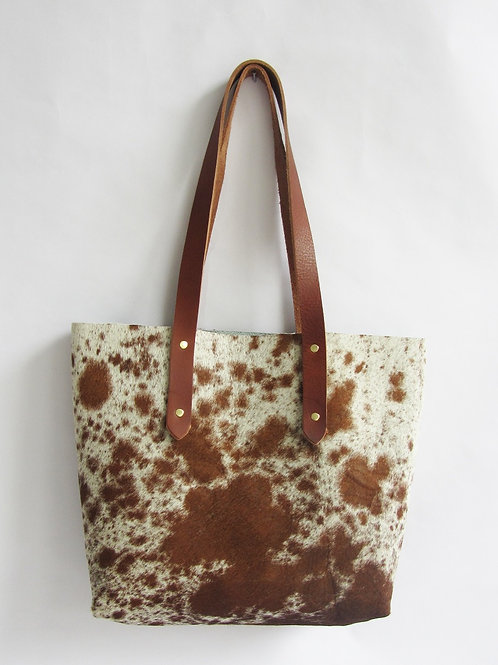 full cowhide CARRIE tote