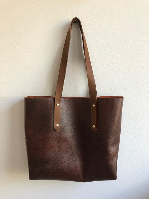 burgundy CARRIE TOTE
