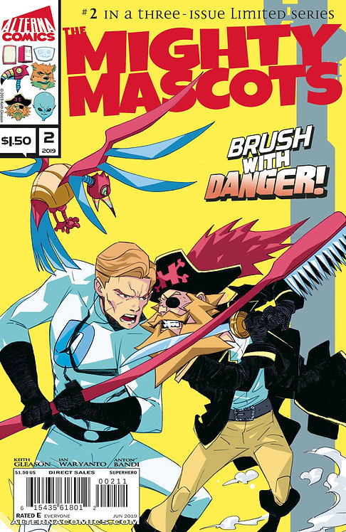 DIGITAL: The Mighty Mascots #2