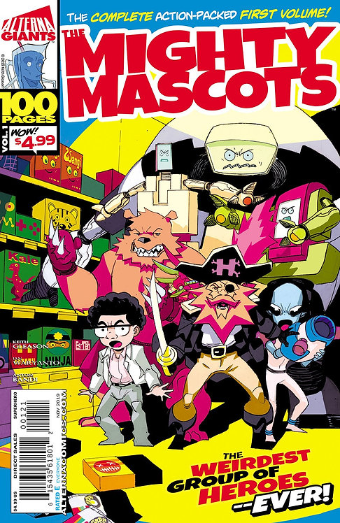 (DINGED & DENTED) Alterna GIANTS: The Mighty Mascots