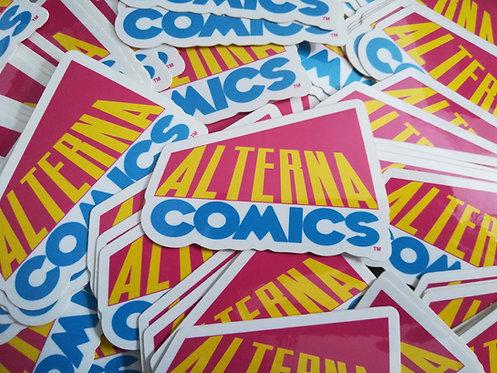 Alterna Comics Retro Sticker
