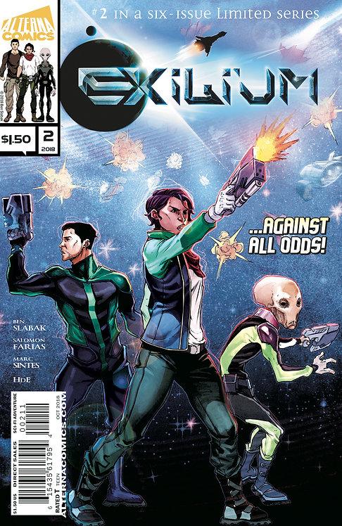 Exilium #2 (of 6) 2nd Printing