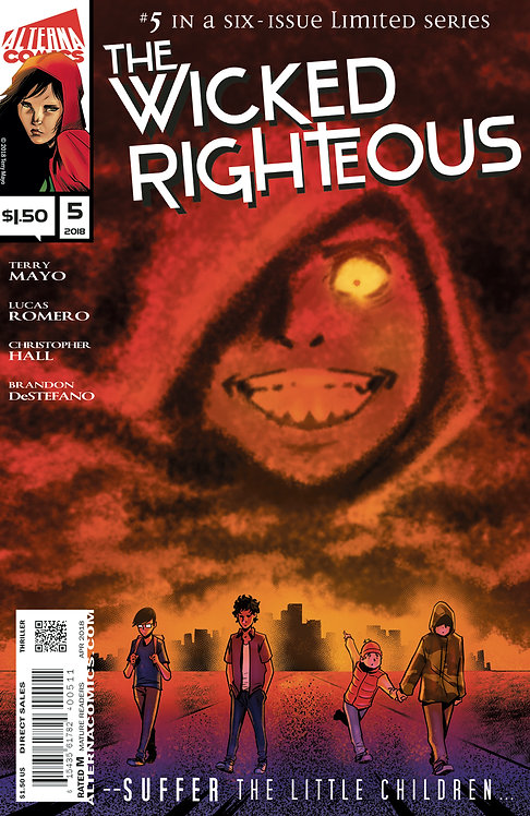 The Wicked Righteous #5 (of 6)