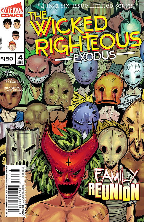 The Wicked Righteous Vol.2 Exodus #4 (of 6)