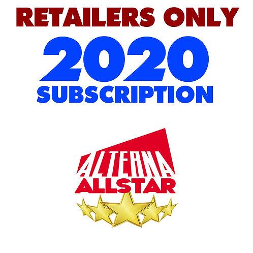 RETAILERS: Alterna AllStar AUG - DEC 2020 Subscription