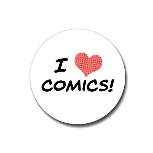 """""""I Love Comics"""" Magnet"""