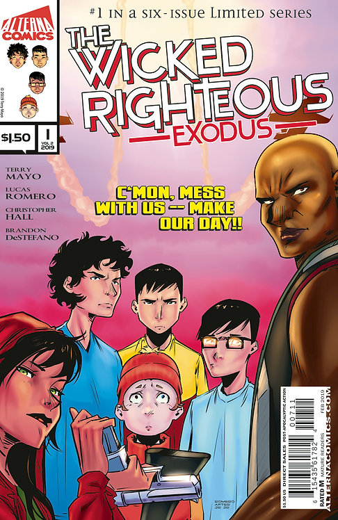 The Wicked Righteous Vol.2 Exodus #1 (of 6)