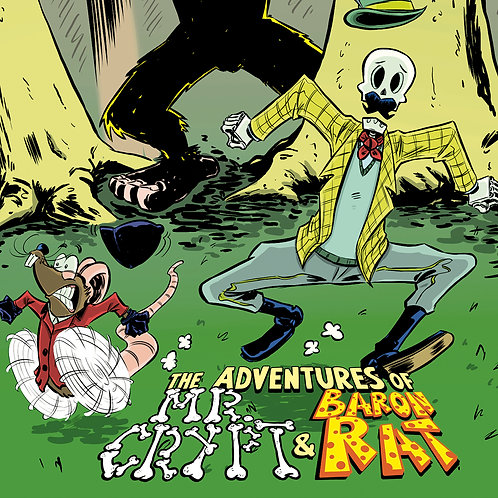 Complete Set: MR. CRYPT AND BARON RAT #1-3