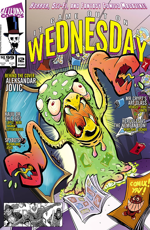 DIGITAL: It Came Out On A Wednesday #12