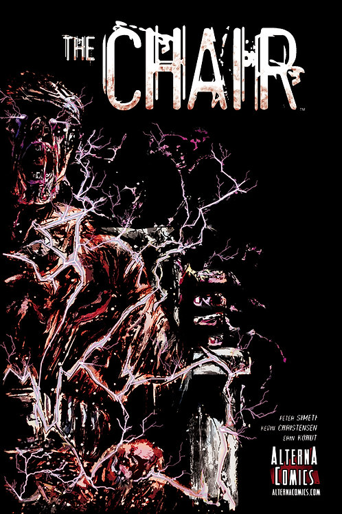 (DINGED & DENTED) SIGNED: The Chair (GN, 1st Edition, 1st Printing)