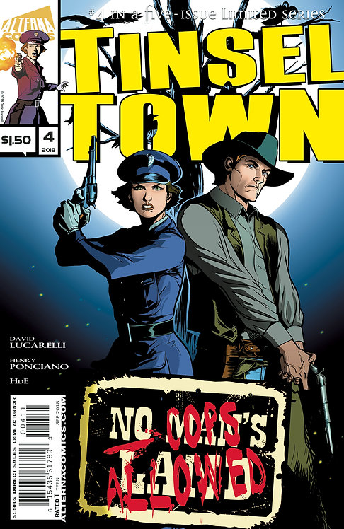 Tinseltown #4 (of 5) 2nd Printing
