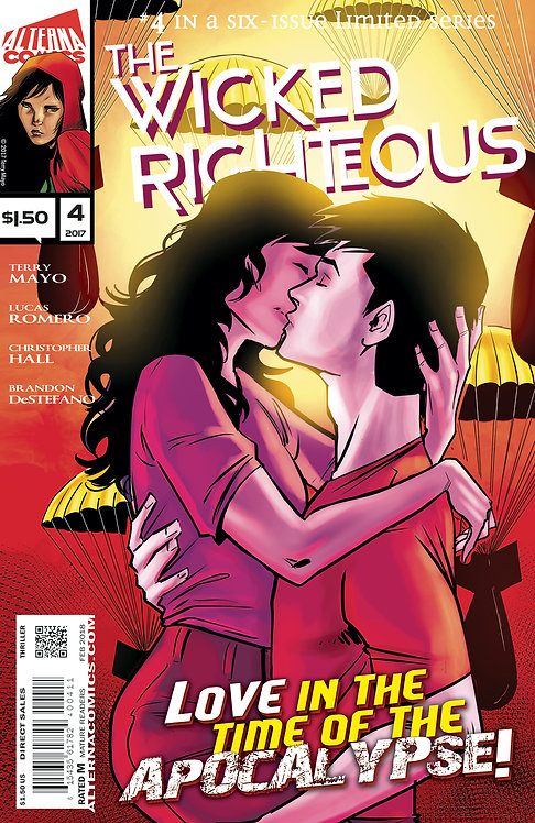 The Wicked Righteous #4 (of 6) 2nd Printing