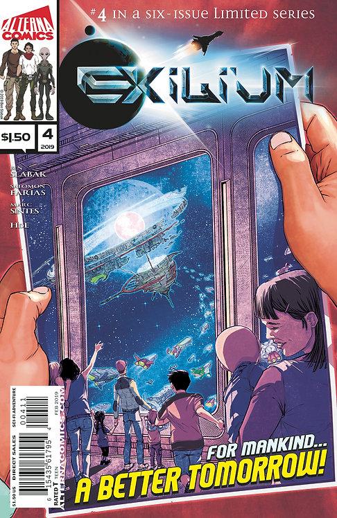 (DINGED & DENTED) Exilium #4 (of 6) 2nd Printing