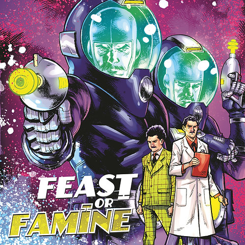 Complete Set: FEAST OR FAMINE #1-3