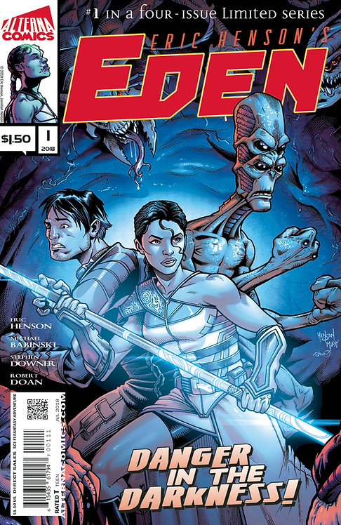 Eden #1 (of 4) 2nd Printing