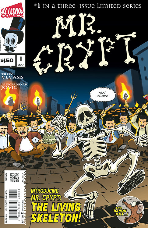 Mr. Crypt #1 (of 3)