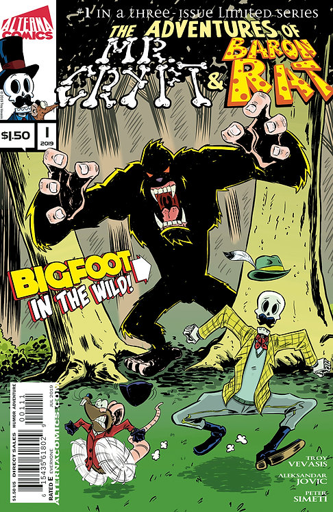 DIGITAL: Mr. Crypt and Baron Rat #1 (of 3)