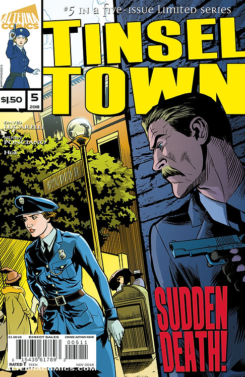 Tinseltown #5 (of 5) 2nd Printing