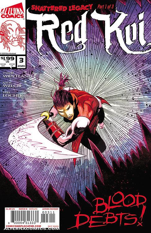 PRE-ORDER: Red Koi #3