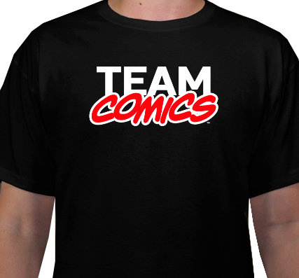 Team Comics T-Shirt (Men's Sizes)