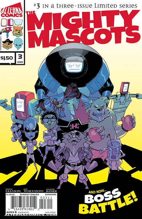DIGITAL: The Mighty Mascots #3