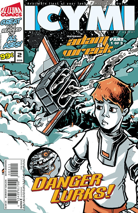 ICYMI #2  (reprints ADAM WRECK #1)