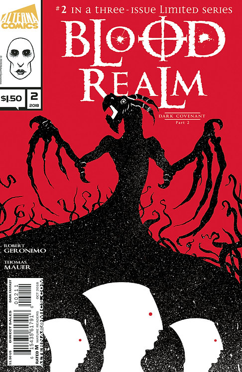 Blood Realm Vol.1 #2 (of 3) 2nd Printing