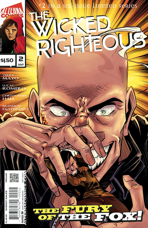 The Wicked Righteous #2 (of 6) 2nd Printing