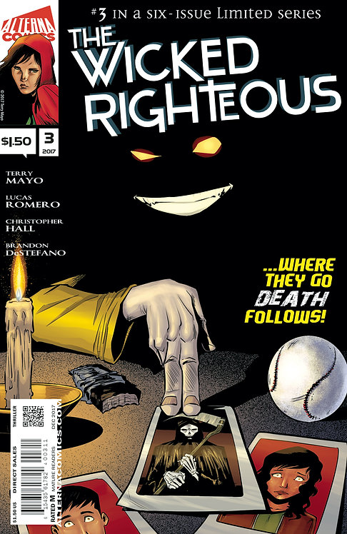 The Wicked Righteous #3 (of 6) 2nd Printing