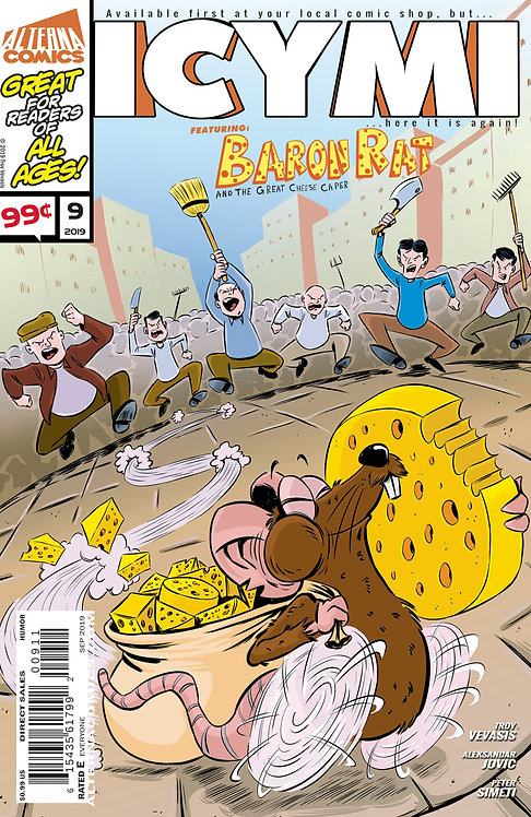 ICYMI #9 (reprints Baron Rat and the Great Cheese Caper)