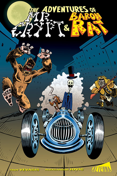 PRE-ORDER: The Adventures of Mr. Crypt & Baron Rat (TP)