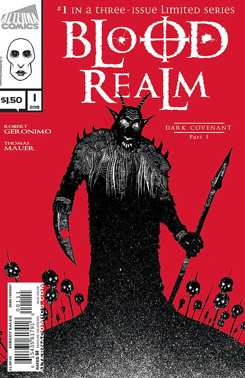 Blood Realm Vol.1 #1 (of 3) 3rd Printing
