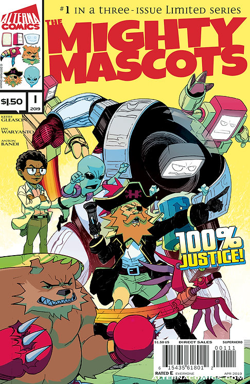 DIGITAL: The Mighty Mascots #1