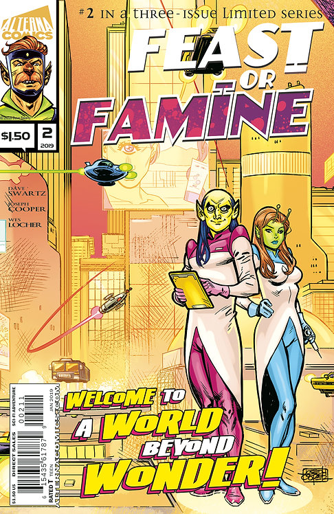 Feast or Famine #2 (of 3) 2nd Printing