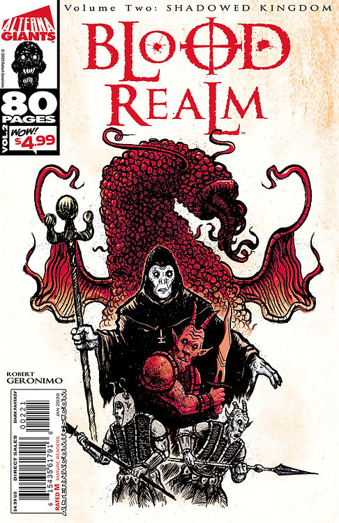 (DINGED & DENTED) Alterna GIANTS: Blood Realm Vol.2