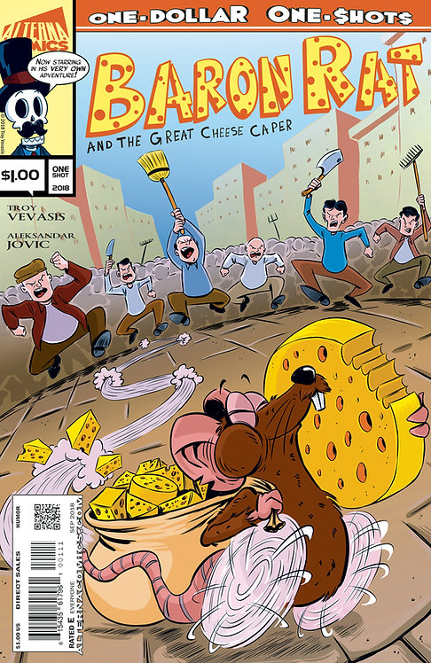 DIGITAL: Baron Rat and the Great Cheese Caper