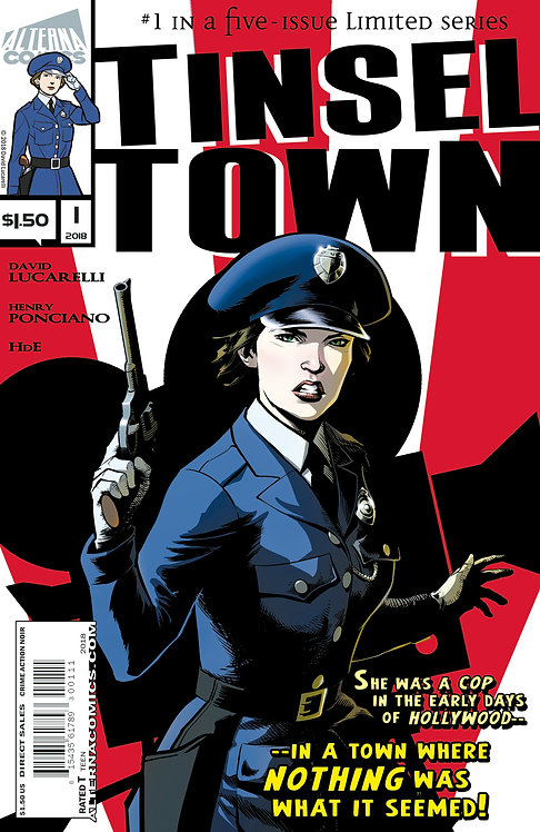 Tinseltown #1 (of 5) 3rd Printing