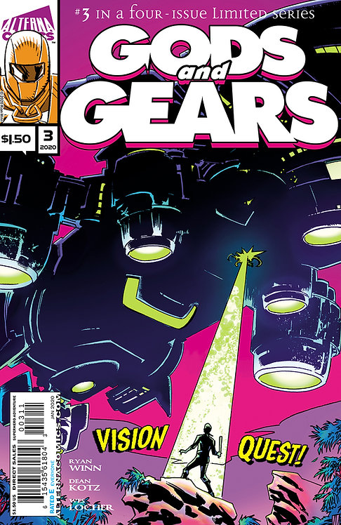 DIGITAL: Gods and Gears #3
